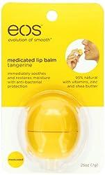 EOS Tangerine Medicated Lip Balm Sphere, .25-Ounce