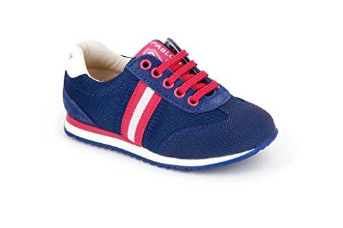 Pablosky - 256527, Sneakers da unisex bambino, azul.fucsia (azul.fucsia), 24