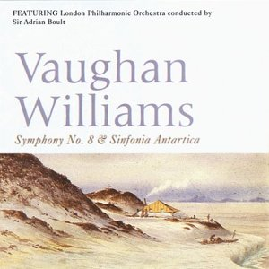 Symphony No. 8 and Sinfonia Antartica (London Philharmonic Orchestra/Sir Adrian Boult)