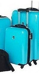 """Heys Usa Tivoli Turquoise 26"""" Hardside Luggage, D1278 (26"""" selling seperately)"""