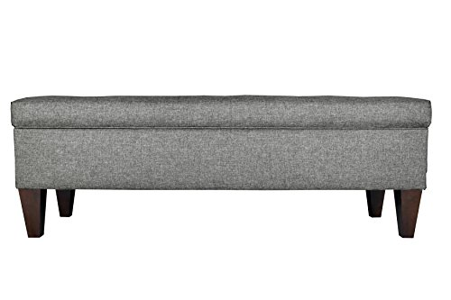 Upholstered Storage Entryway Bench: MJL Furniture Designs Brooke Collection Diamond Tufted