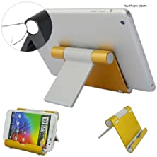buy First2Savvv Golden Universal Multi-Angle Luxury Polished Stainless Steel Stand Dock Docking Station For Sony Ericsson Xperia Active