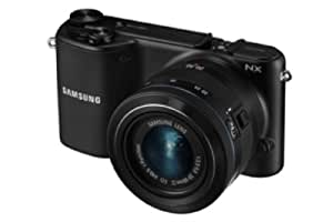 Samsung NX2000 Compact System Camera Kit - Black (20.7MP, 20-50mm Lens Kit) 3.7 inch LCD