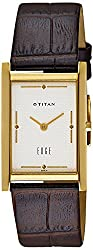Titan Edge Analog White Dial Mens Watch - NC1043YL04