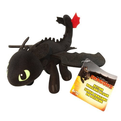 "DreamWorks Dragons: How To Train Your Dragon 2 - 8"" Plush - Toothless - 1"