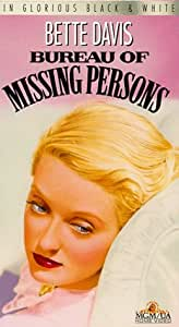 Bureau of Missing Persons [VHS]