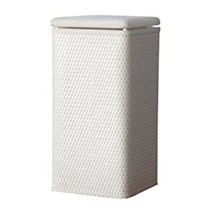 Lamont Home Carter Apartment Wicker Laundry Hamper With