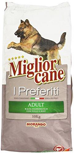 Miglior Cane - I Prefetiti, Alimento completo con Polo e Riso per Cani Adulti - 10000 g