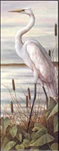 Egret Paper Tole 3D Decoupage Craft Kit Size 8x20 Inches