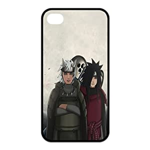 Naruto Uchiha Madara Unique Apple Iphone 4 4S Durable Hard Plastic Case Cover Personalized Treasure DIY