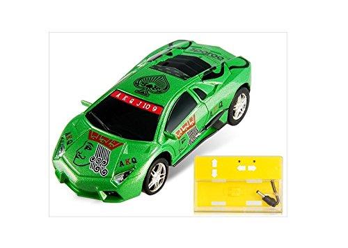 2221 Poker Shaped 2.4Ghz Mini Remote Control Racing Car