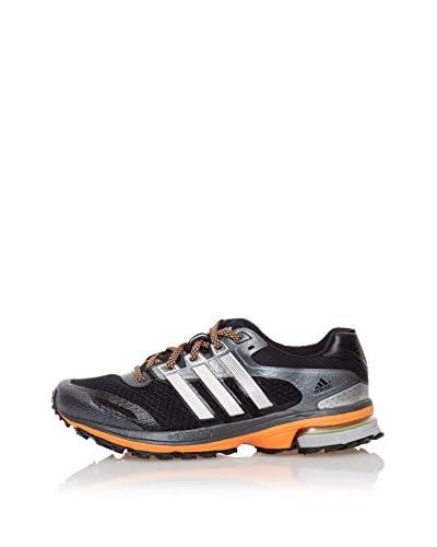 Adidas Sneaker Supernova Glide 5 Atr Toile [Nero/Grigio/Arancione]