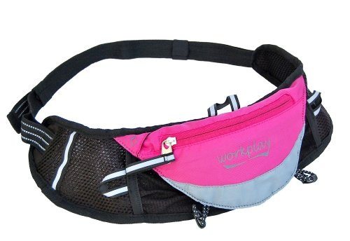 Fleetfoot Ii Pink Ladies Running Bag Running Belt, Ladies Fanny Pack front-32798