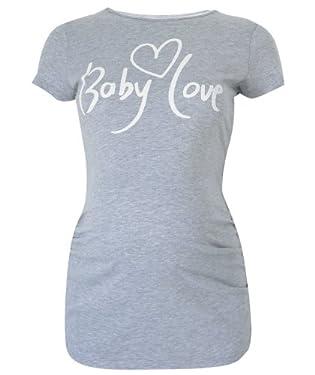 Maternity Slogan T-Shirt