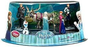 Disney Store Frozen 6 Figurine Play Set - Cake Toppers Decoration