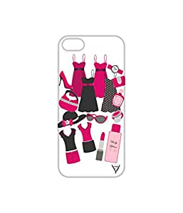 Vogueshell Girlish Swag Printed Symmetry PRO Series Hard Back Case for Apple iPhone 5s