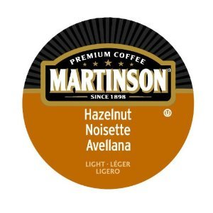 Martinson Coffee Capsules Hazelnut for Keurig K-Cup 24 Count