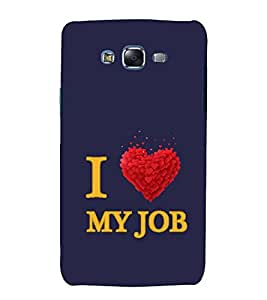 printtech I Love Quotes Back Case Cover for Samsung Galaxy Quattro i8552 / Samsung Galaxy Quattro Win i8552