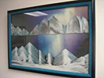 "Big Sale Best Cheap Deals Rainbow Vision Sand Picture By Klaus Bosch -- Small size ""Aurora Borealis"""