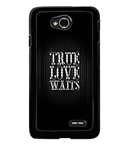PrintDhaba Quote D-2992 Back Case Cover for LG L90 (Multi-Coloured)