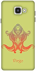 The Racoon Lean Virgo hard plastic printed back case / cover for Samsung Galaxy A7(2016)