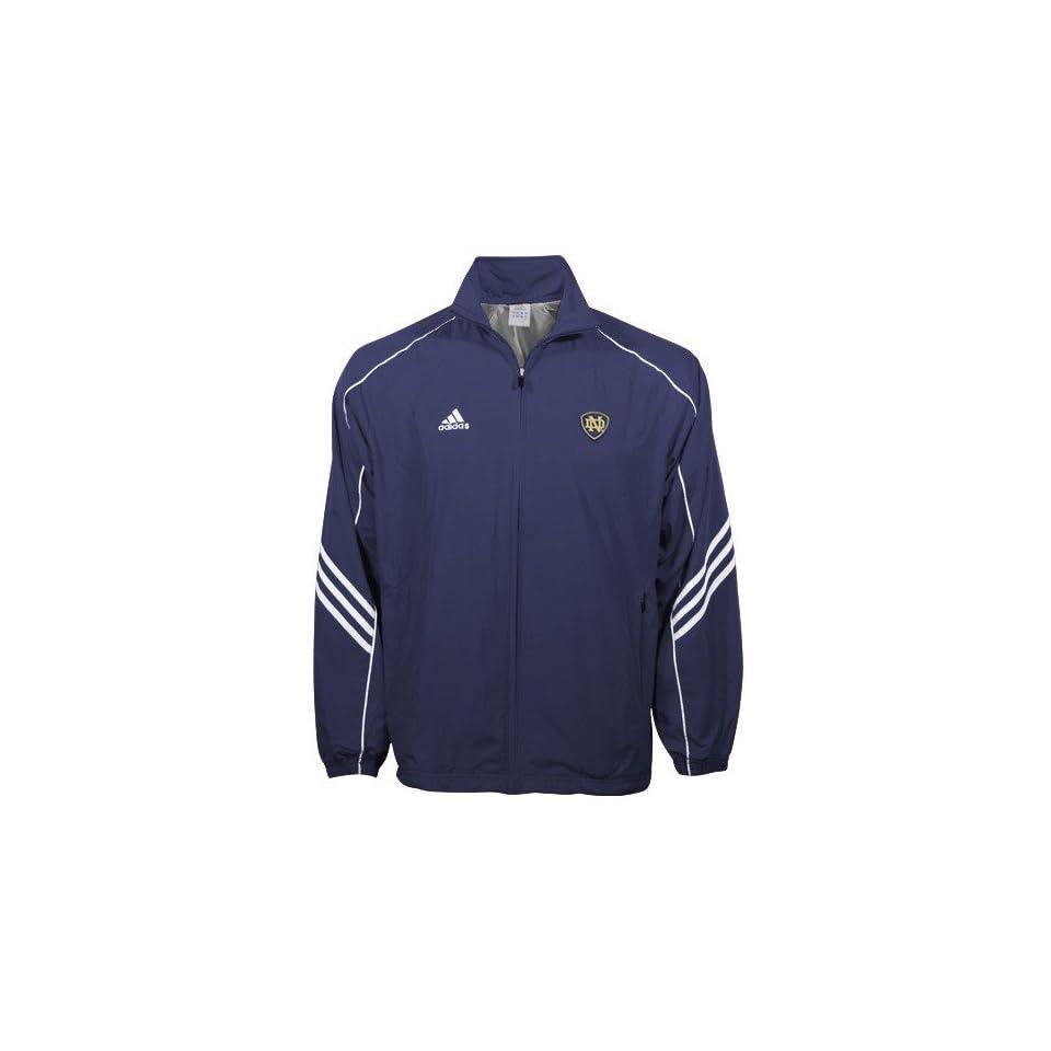 Adidas Notre Dame Fighting Irish Navy Blue ClimaLite Jacket