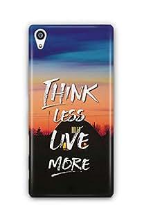 YuBingo Think Less. Live More Designer Mobile Case Back Cover for Sony Xperia Z5 Premium