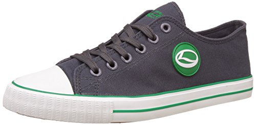 Lancer Men's Dark Grey and Green Sneakers - 8 UK/India (42 EU)(YSM-L-901)  available at amazon for Rs.699