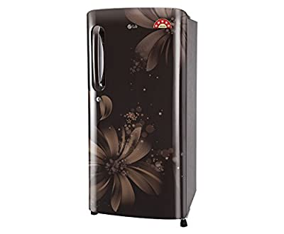 LG GL-B201AHAN.AHAZEBN Direct-cool Single-door Refrigerator (190 Ltrs, 5 Star Rating, Hazel Aster)