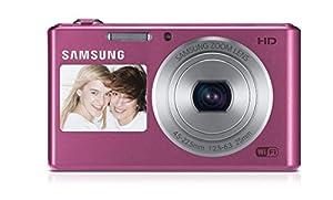 Samsung DV150F Dual-View Smart Digital Camera (Pink)