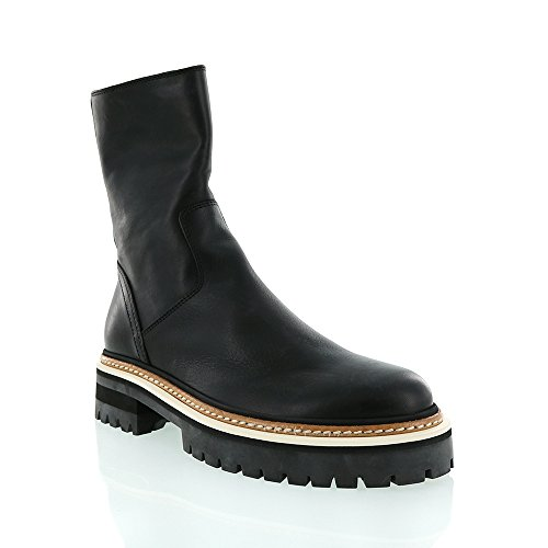ann-demeulemeester-black-leather-short-boot-w-white-insert-on-sole-size-395