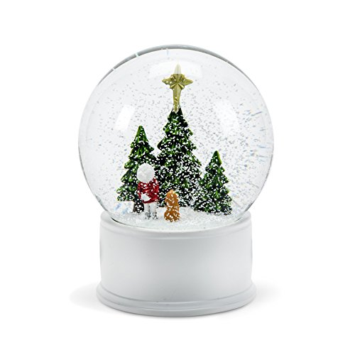Abbott Collection Large Snow Globe with Child Gazing At Star