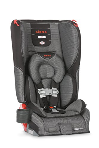 Diono Pacifica Convertible Plus Booster Seat With Body Pillow, Shadow front-404691