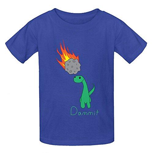 dammit-dinosaur-boys-crew-neck-personalized-t-shirt-blue