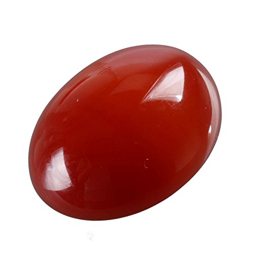 2pcs AAA Natural Carnelian Agate Oval Cabochon Flatback Gemstone beads 25x18mm or 9.84