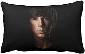 The Walking Dead Carl Grimes Chandler Riggs Zippered Pillow Cases 20 x 30 Inch Two Print CMF021