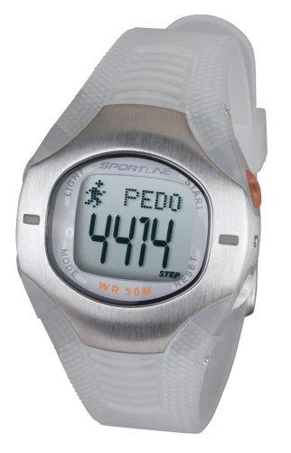 Cheap Sportline 955 Women's Pedometer Watch (SP4414WH)