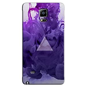 PURPLE SMOKE BACK COVER FOR SAMSUNG GALAXY NOTE 4