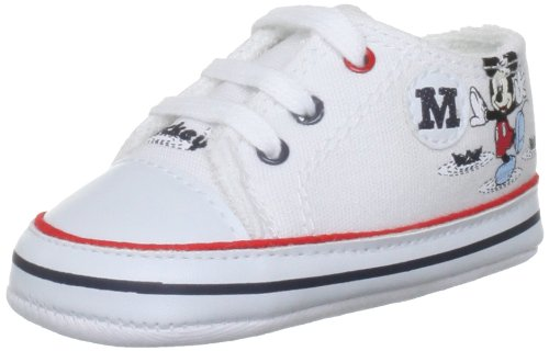 Cuquito Mickey Tennis White Baby Shoe 50663 0.5 UK Infant, 17 EU