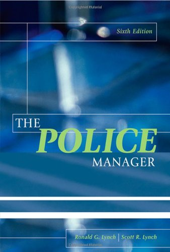 The Police Manager, Sixth Edition
