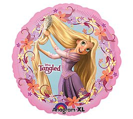 "Rapunzel Tangled 18"" Mylar Balloon 18 Birthday Party Decoration Disney Princess - 1"