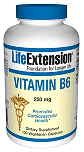 Life Extension vitamine B6 - 250 mg - 100