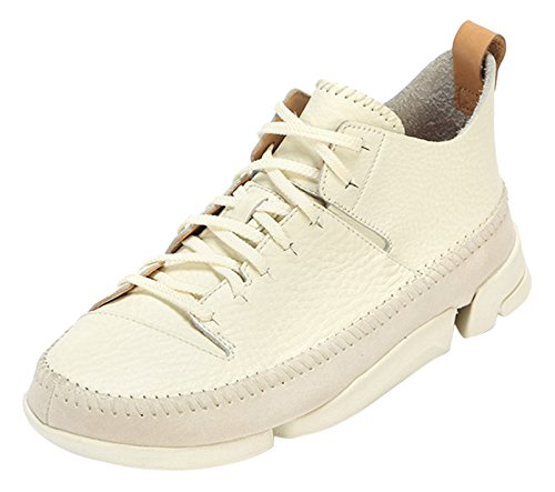 clarks-originals-mens-trigenic-flex-low-top-sneakers-white-white-8-uk