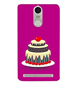 Cake Clipart 3D Hard Polycarbonate Designer Back Case Cover for Lenovo K5 Note :: Lenovo Vibe K5 Note Pro