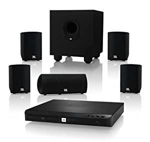 JBL Cinema BD 300 Complete 5.1-Channel 3D Blu-ray Disc Integrated Home Theater System by JBL