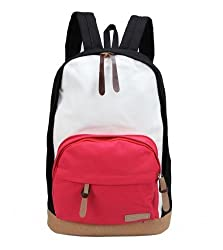 Korean Style Canvas School Backpack Rucksack Shoulder Laptop Bag, Gift Idea