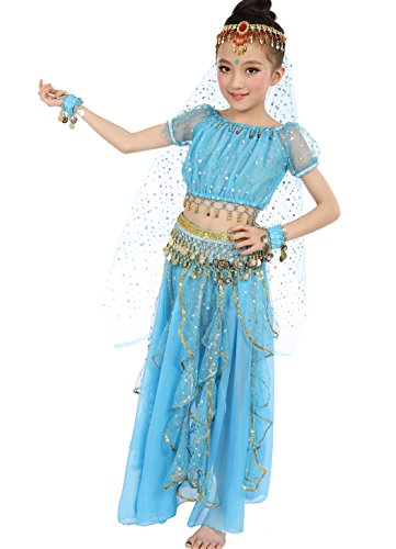 Astage big girls belly dance carnival dancing dress sky for Dress shirts for big bellies
