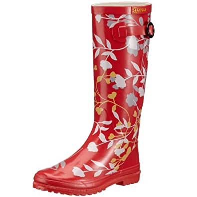 Aigle Polka Boot 3747A, Bottes femme - Rouge-TR-SW168, 35 EU