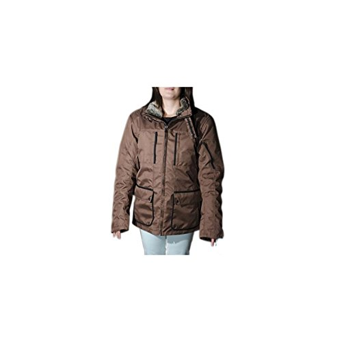 BLOUSON STEEV CITY-BROWN 3/4 XXL