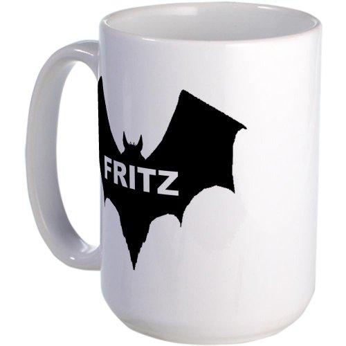 Cafepress Black Bat Fritz Large Mug Large Mug - Standard
